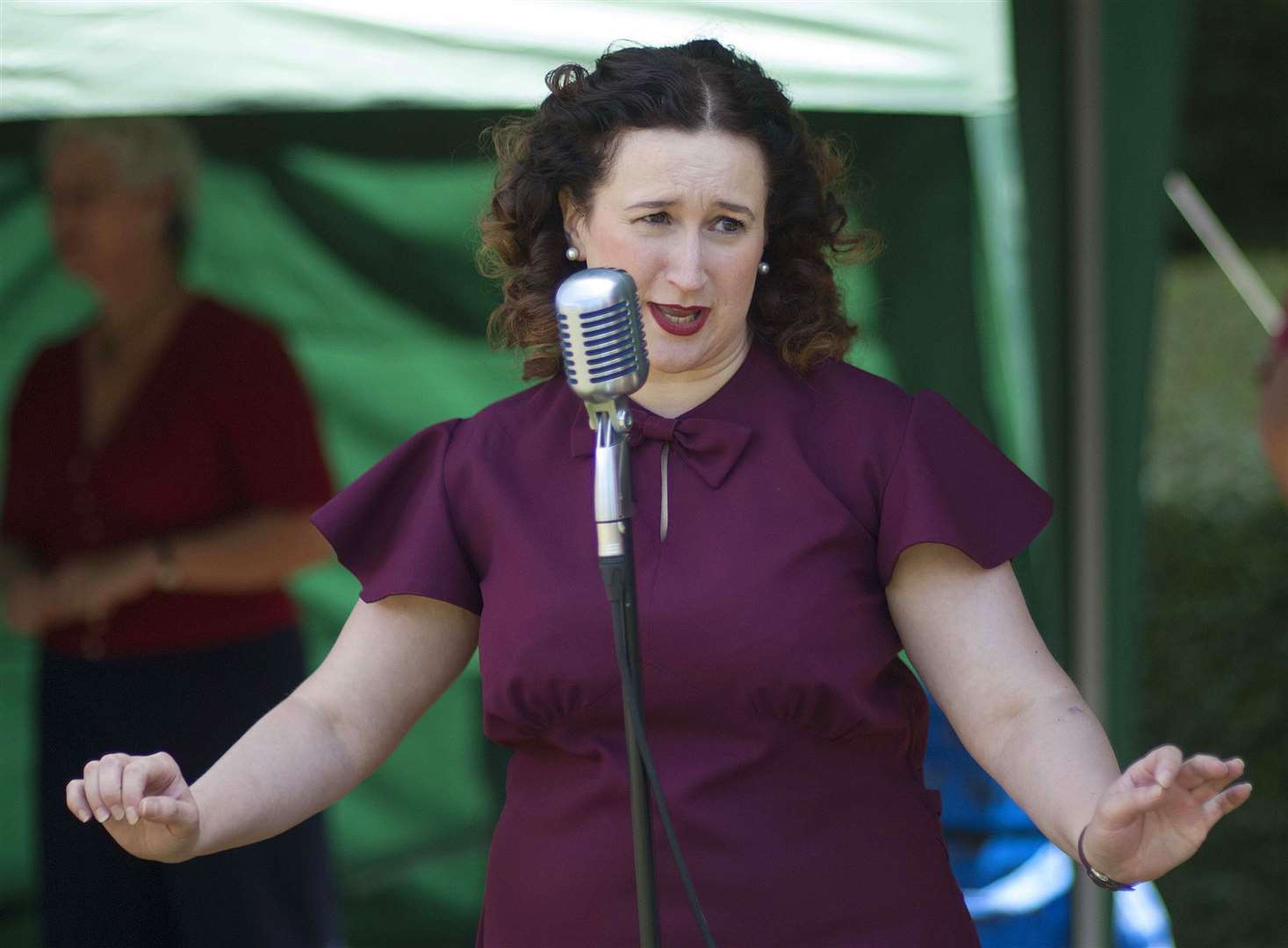 1940s weekend at Ayscoughfee Hall Museum and Gardens 2019