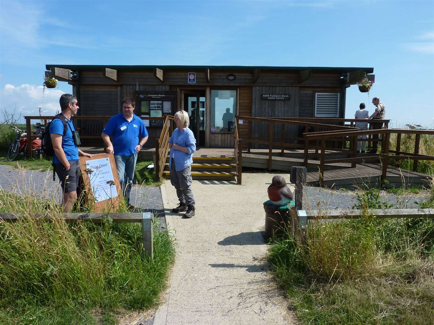 There are activities for the family at Frampton Marsh RSPB, including the 'Big Wild Sleep out' on Saturday. (CREDIT: P Cashman RSPB)