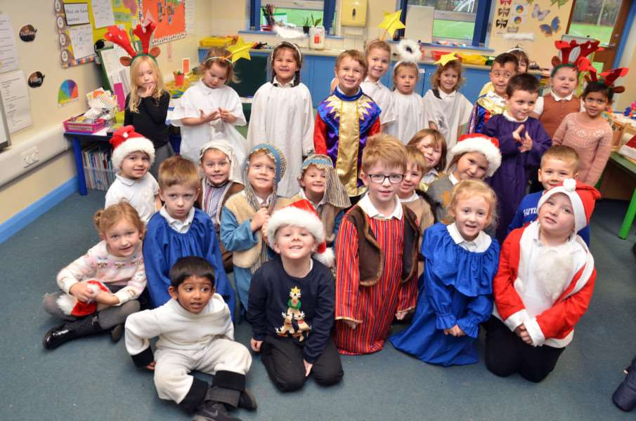 Early Years Christmas Play at Holbeach Primary Academy'All players