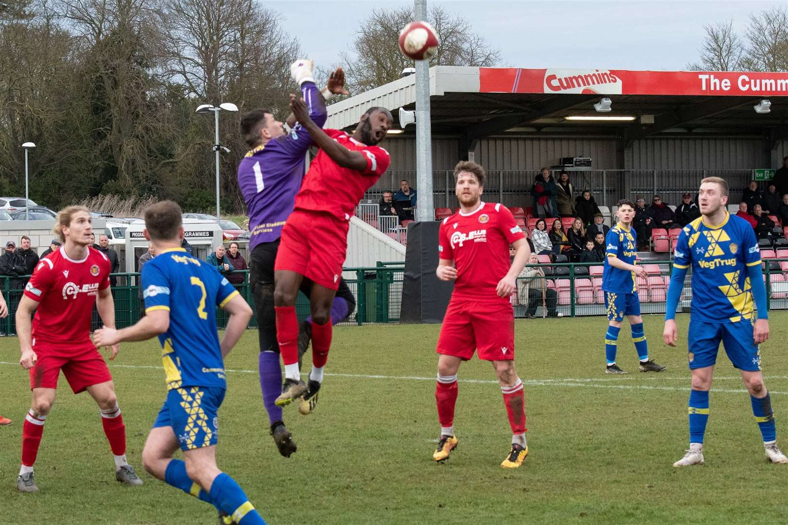 Stamford were 5-1 derby winners over Spalding United. Photo: Alan Walters (31578986)