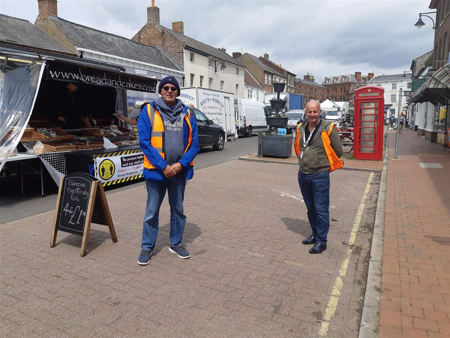 Jack Tyrrell and David Wilkinson at Long Sutton market (37763674)