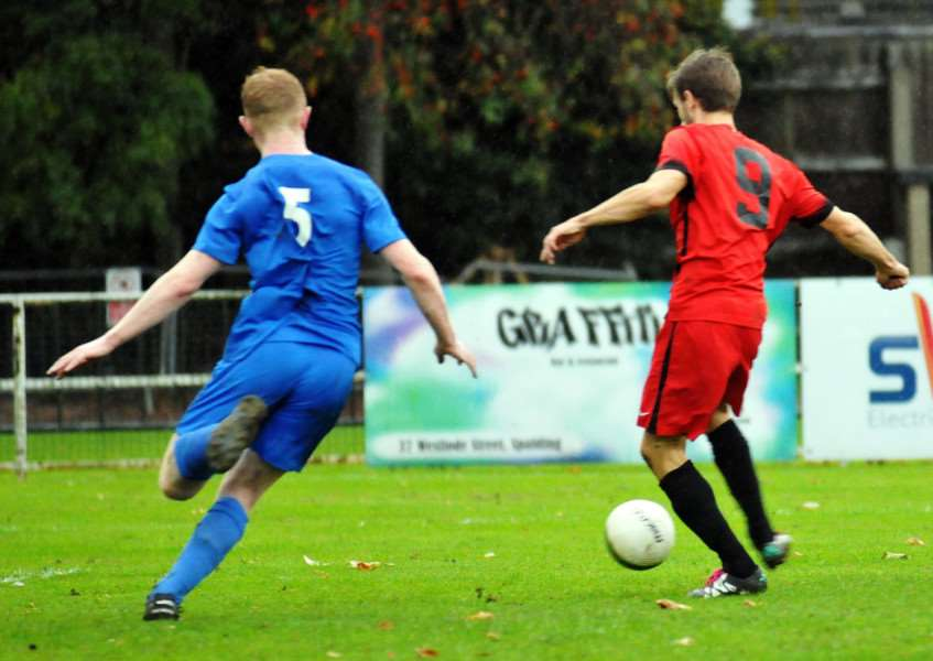 Ollie Maltby scores for Pinchbeck