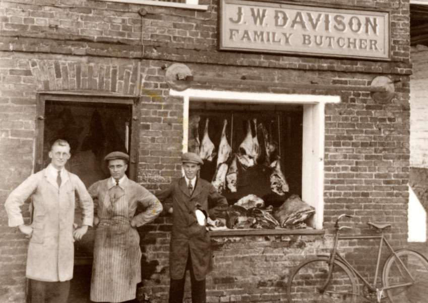 The old butcher's in Donington