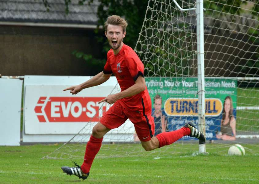 TOP FORM: Ollie Maltby has scored doubles in each of the last three league games for Pinchbeck United.