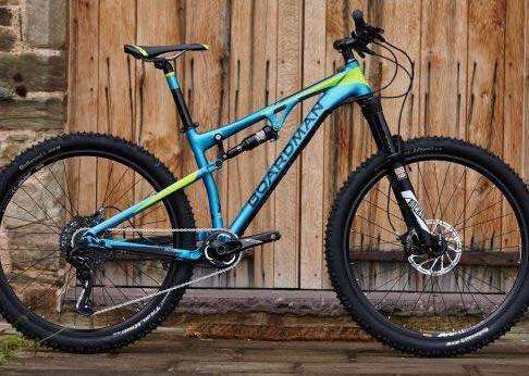 This Boardman Pro FS blue/green mountain bike was stolen from a garden in Pinchbeck. Photo supplied.