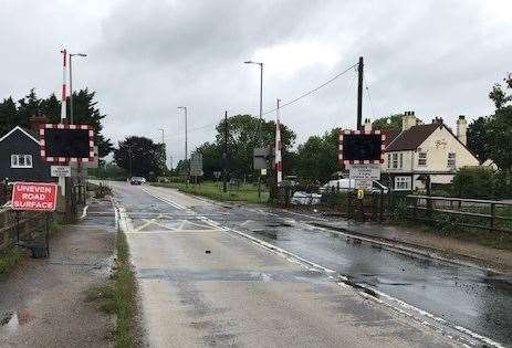 Work on a £1million upgrade of Swineshead level crossing is to start on Monday, December 7.Photo supplied by Network Rail. (43151795)