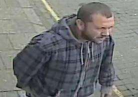 Police want to speak to this man in relation to the theft of a bicycle outside a Crowland shop. Photo supplied by Lincolnshire Police.