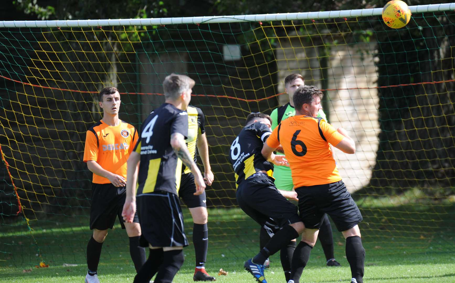 Action from Leverington's game at Crowland. (42222163)