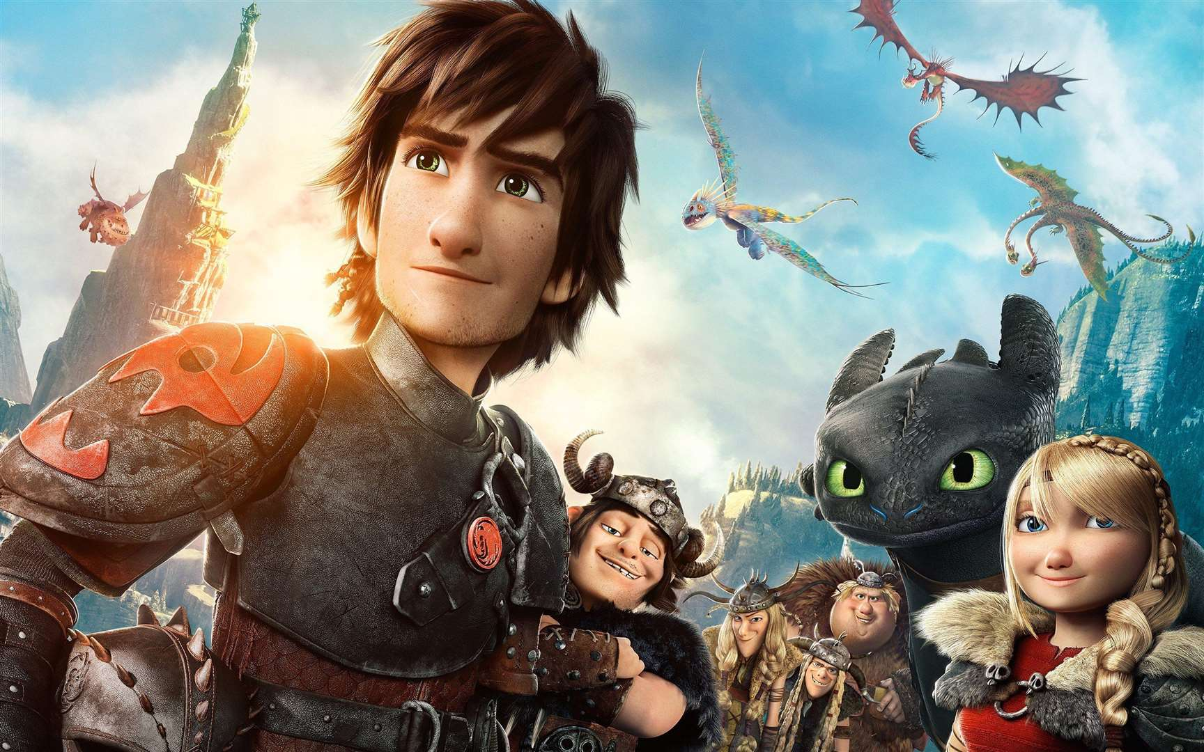 See the family movie How to Train Your Dragon 2 at the South Holland Centre today (Thursday). (6231293)