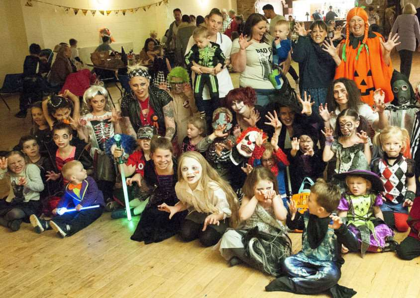 Flinders Founders Halloween Party at Donington Community Centre. Photo (MICHAEL FYSH) SG2701017-076MF