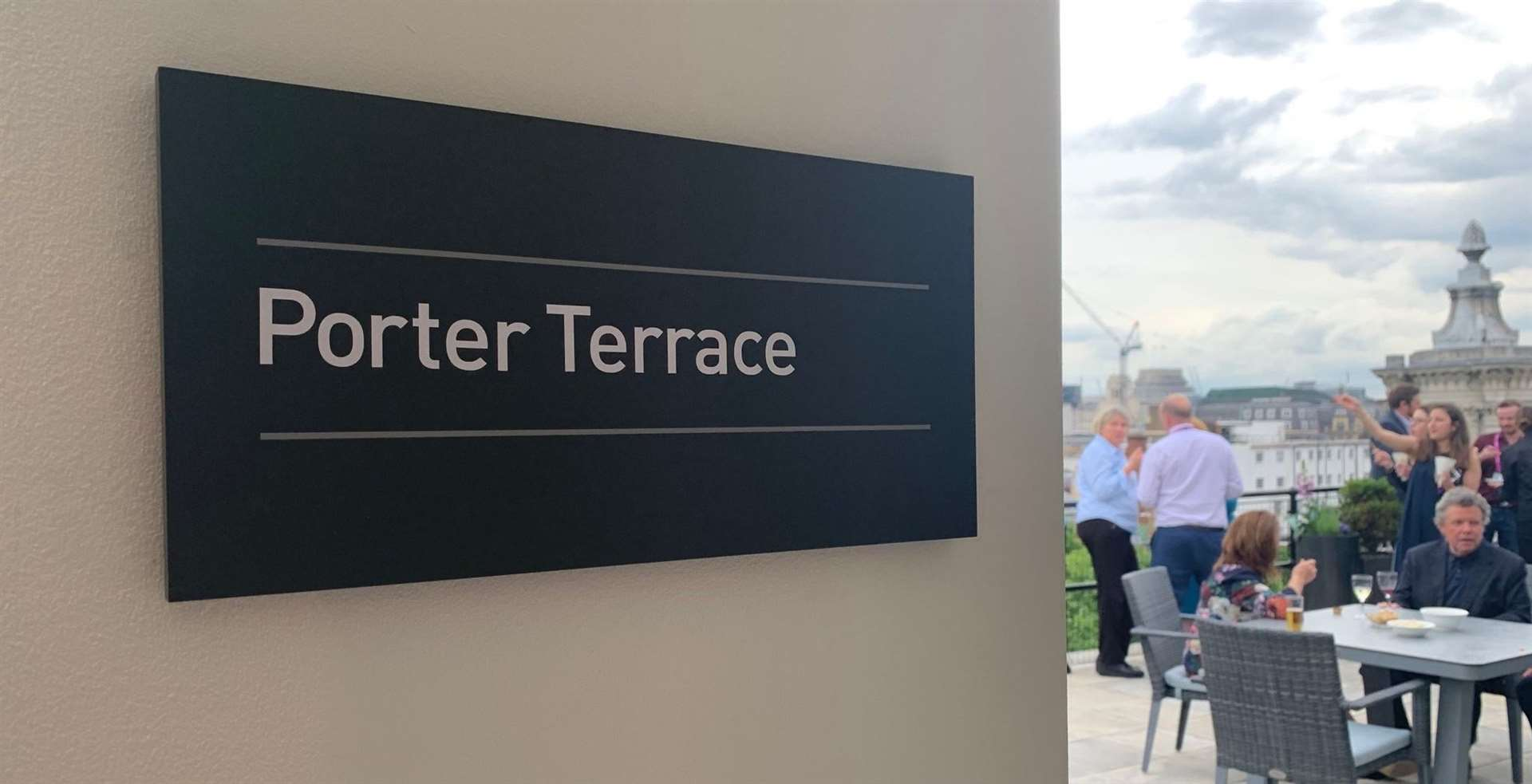 The newly-named Porter Terrace in London. Photo supplied.