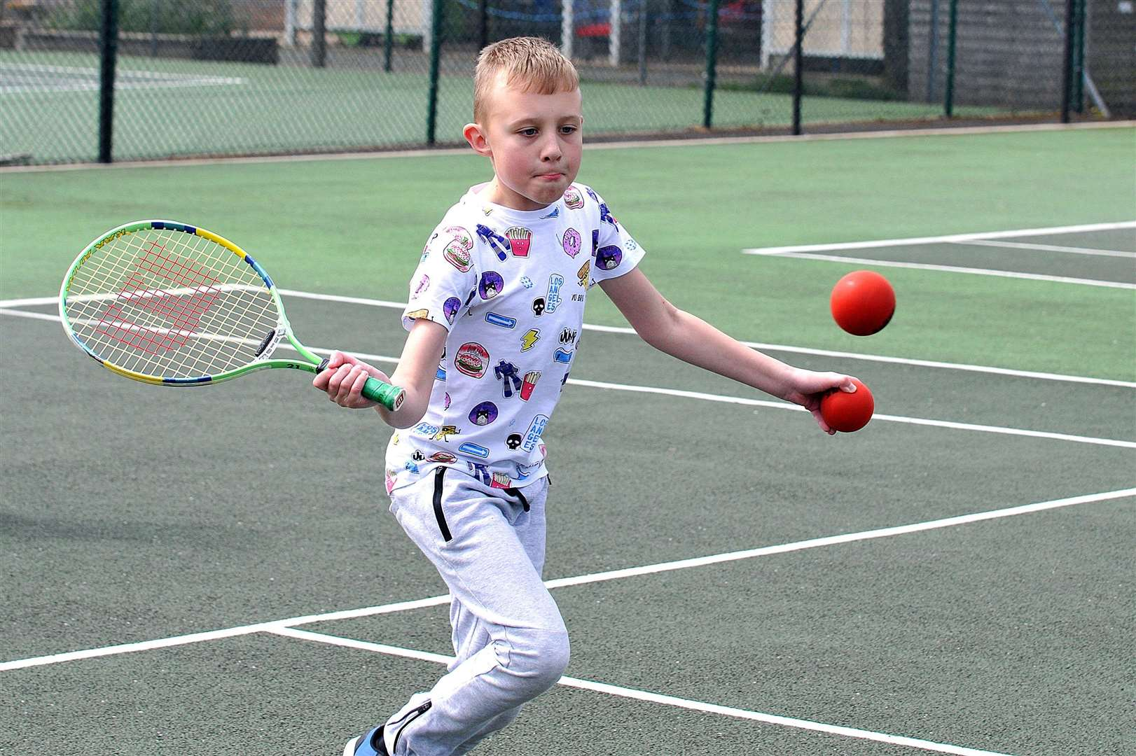 Spalding Town Tennis Club open day