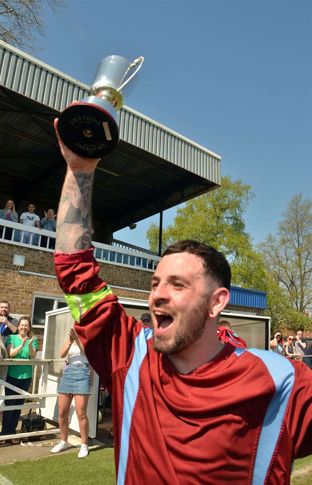 Spalding Sunday League Mont Pell Trophy winners South Holland United
