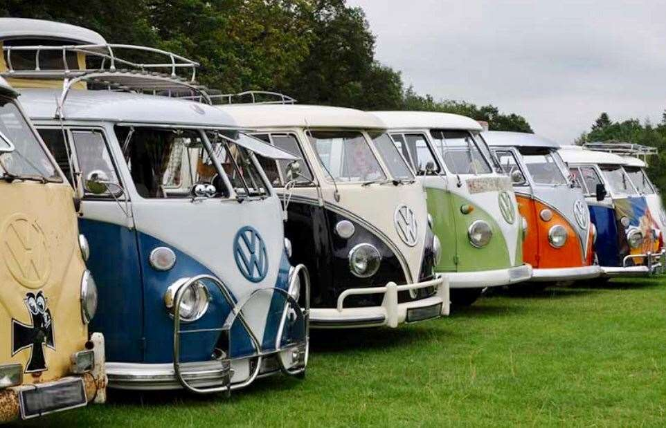 The VW Camper Van and Car Show is a new attraction at this year's Holbeach Music and Beer Festival. (12951606)