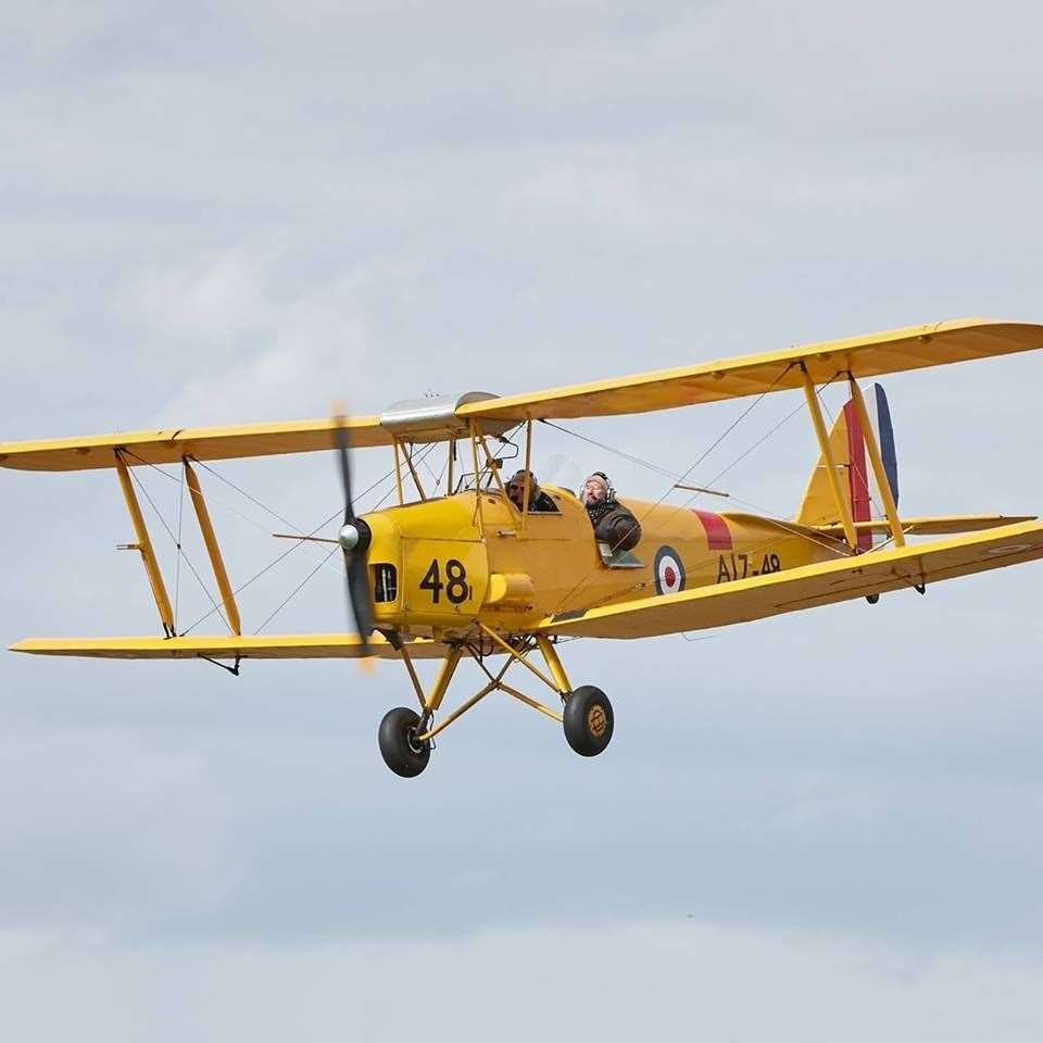 The Wings and Wheels festival is on at Fenland Airfield in Holbeach St Johns on Sunday
