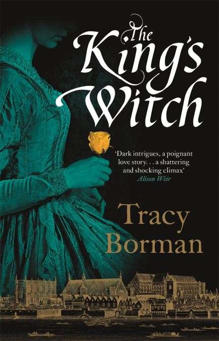 The King's Witch by Tracy Borman. Bookmark in Spalding's Book of the Week. (42840512)