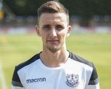 Matt Sparrow scored on his debut for Deeping Rangers at Rothwell Corinthians. (21311389)