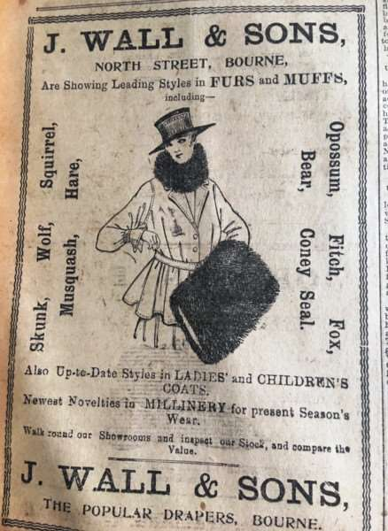 Advert from LFP 1917