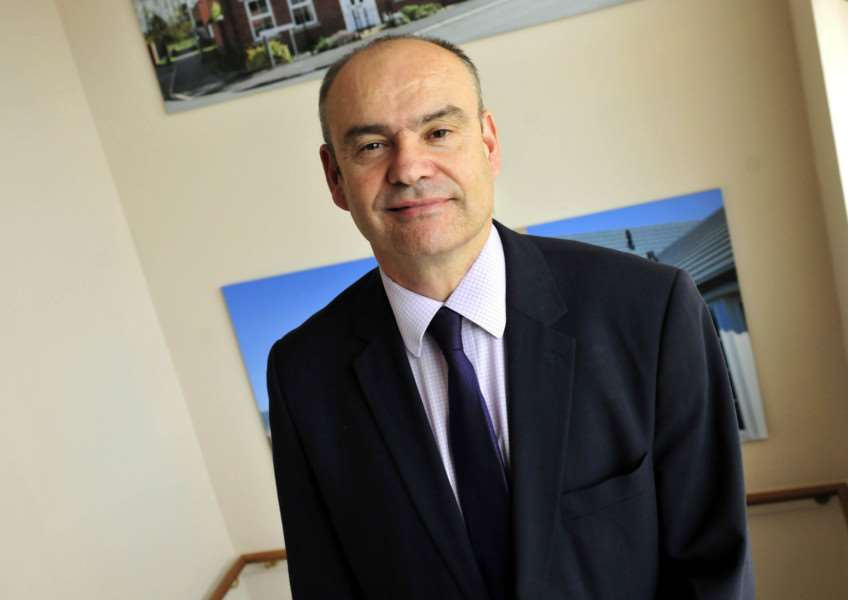 Karl Hick, chief executive officer for Larkfleet Homes, Bourne.''Photo supplied.