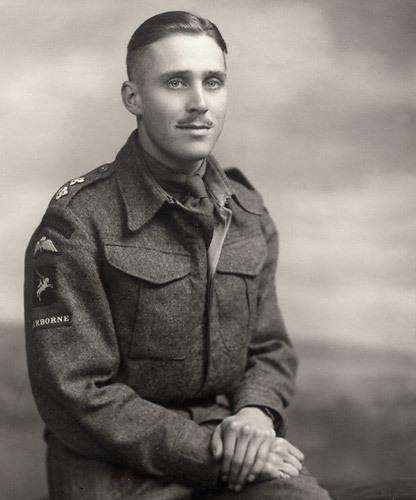 Lieutenant Peter Stainforth in uniform. (4506952)
