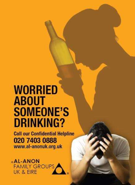 Al-Anon Family Groups has a helpline for anyone worried about someone else's drinking.
