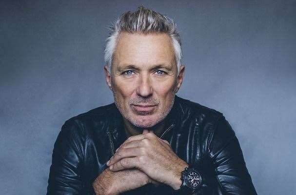 Martin Kemp performs at 'Back to the '80s' at the Boston Gliderdrome on Saturday.