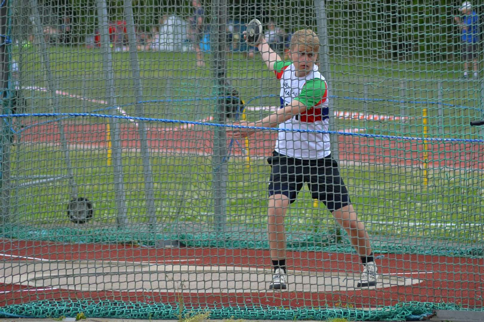 A new discus PB for Donovan Capes (11726094)
