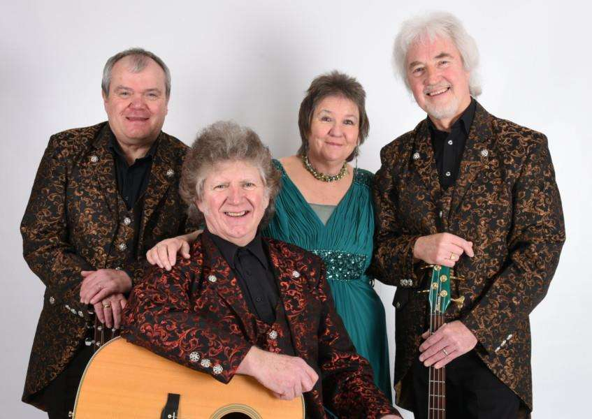 The Settlers, who are playing at St Mary's Church in Pinchbeck. Photo copyright Nigel Haggerty ACS.