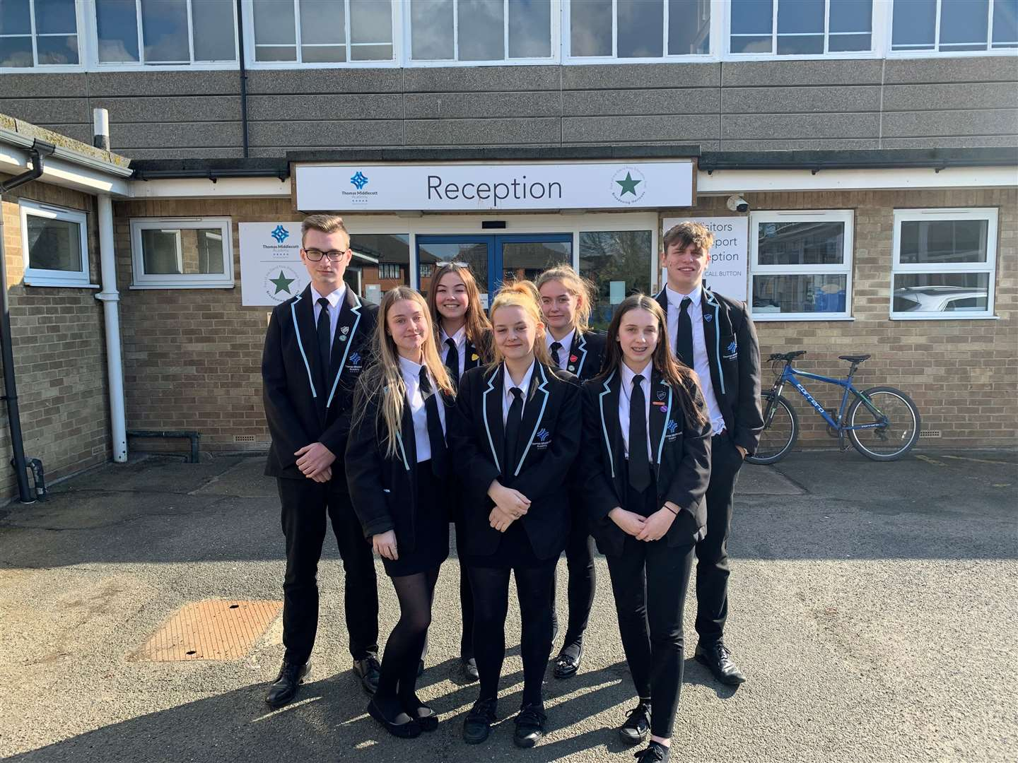 Prefects at Thomas Midlecott Academy in Kirton. (31255220)