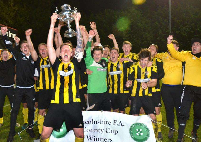 Lincolnshire FA Senior Trophy winners