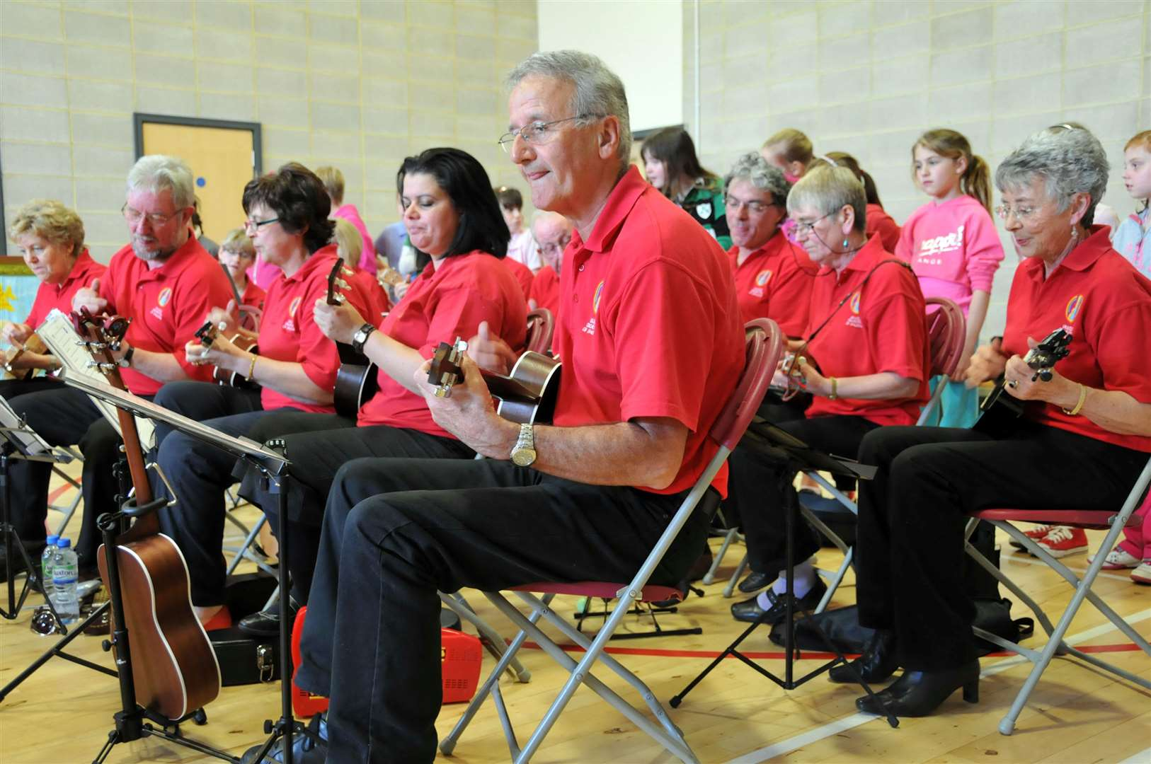 The Ukulele Orchestra of Spalding is celebrating its tenth birthday. (2255934)
