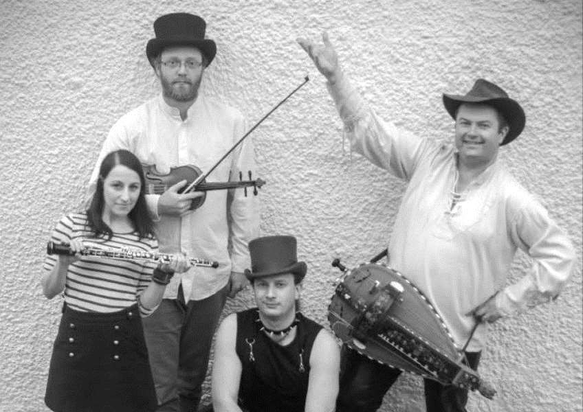 Pilgrim's Way, Spalding Folk Club's guests on November 1. (Photo supplied)