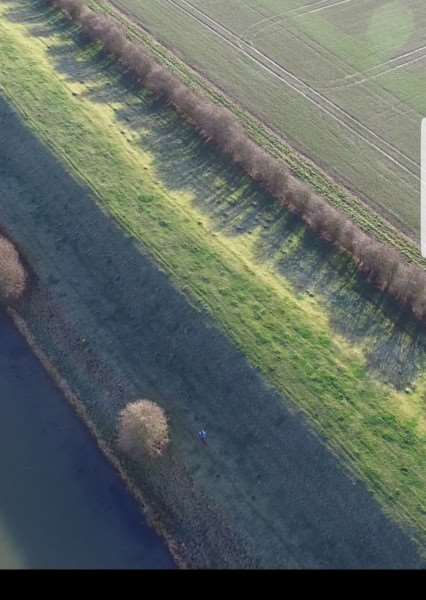 Images from the Operation Galileo drone during a day of action in Swineshead Bridge. Photo supplied by Lincolnshire Police.