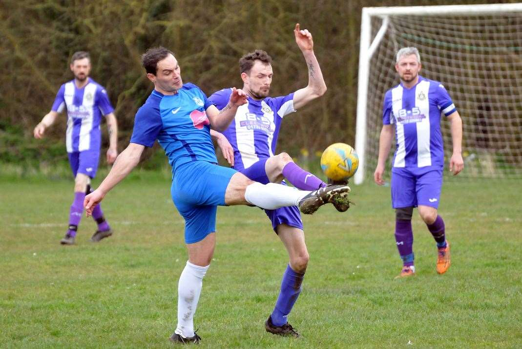 NECI went out of the PDFL League Cup at home to Thorney.Photo: SG-070320-071TW.