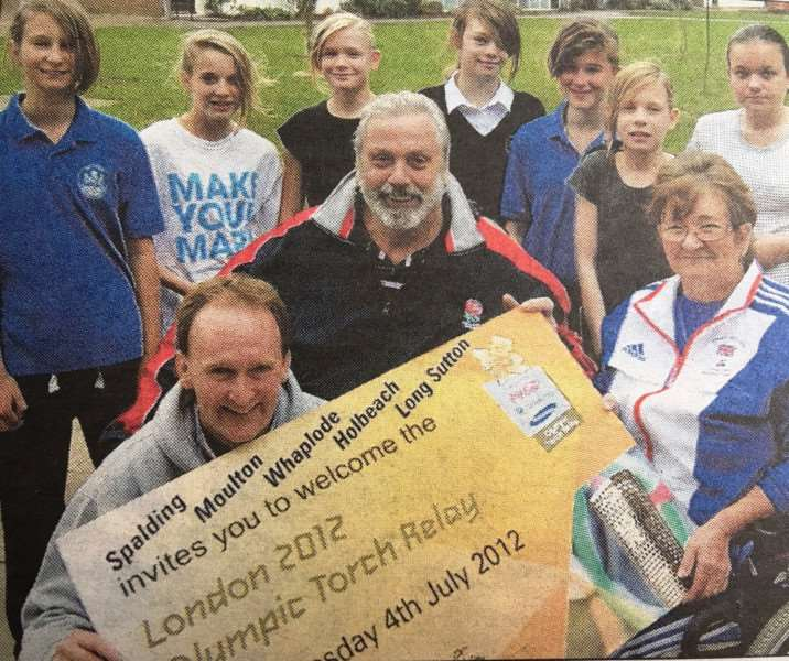 Three-time Olympian Geoff Capes, born in Holbeach, welcomed the news.