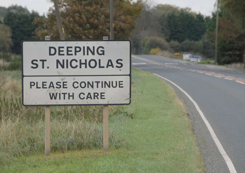 Deeping St Nicholas Parish Council news.