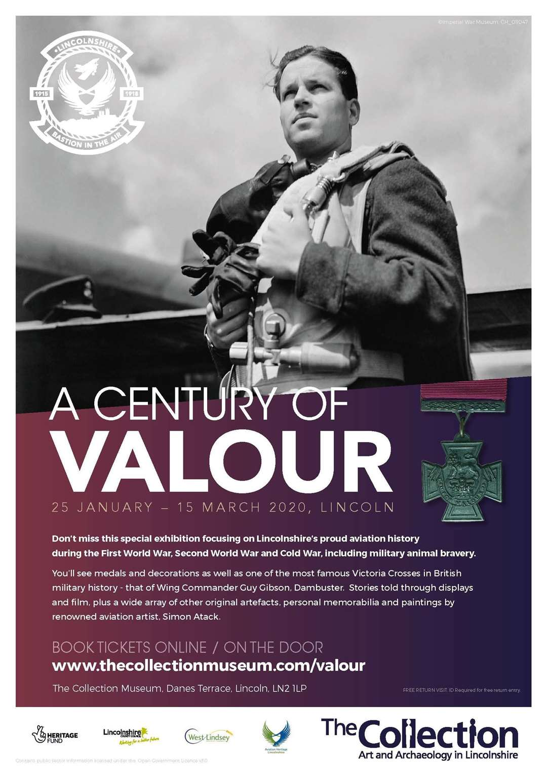 A Century of Valour exhibition continues to run at The Collection in Lincoln until March 15.