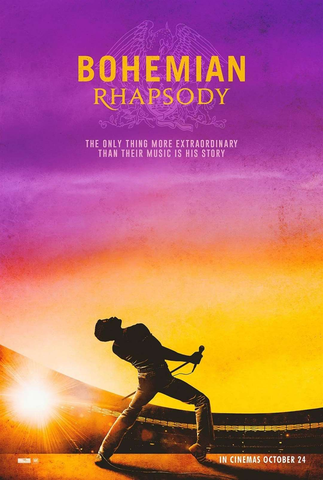 See the movie Bohemian Rhapsody - the story of the band Queen and its frontman Freddie Mercury today (Thursday) at the South Holland Centre. (5540931)