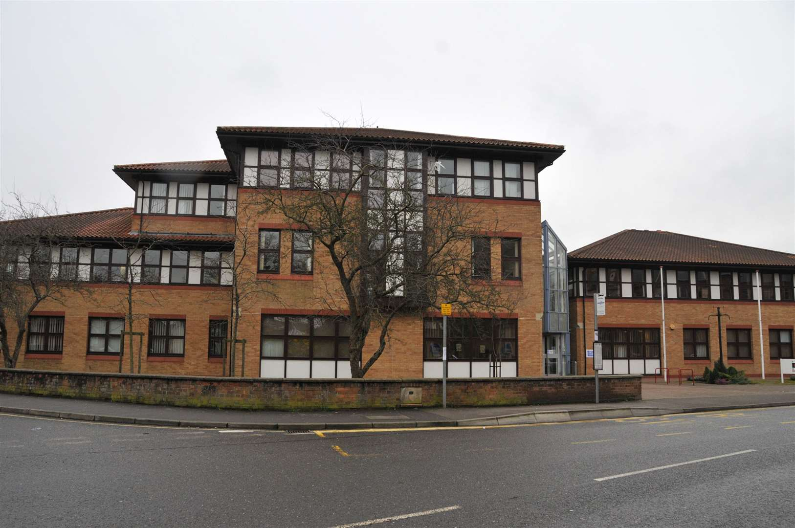 South Holland District Council's offices in Priory Road, Spalding.