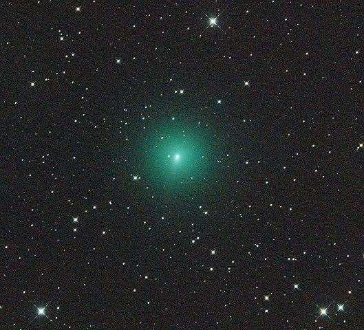 Image of comet Atlas, taken last month. Picture: Wikimedia Commons