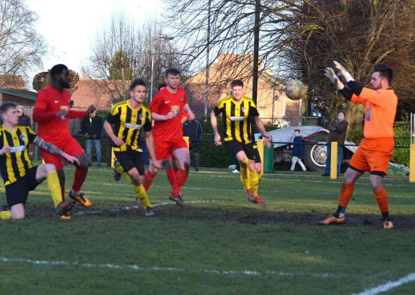 Holbeach were held at home to Leicester Nirvana last weekend