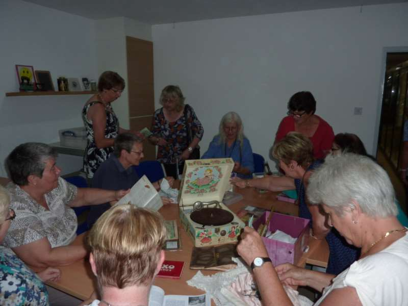 Newlands Ladies Group enjoying the new community room at the Museum of Technology