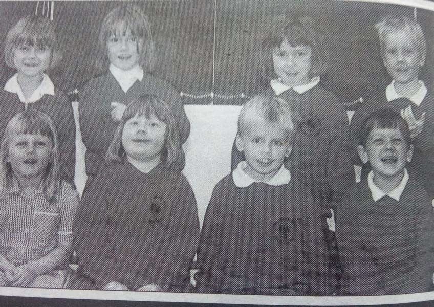 West Pinchbeck Primary School reception cllass of 2001