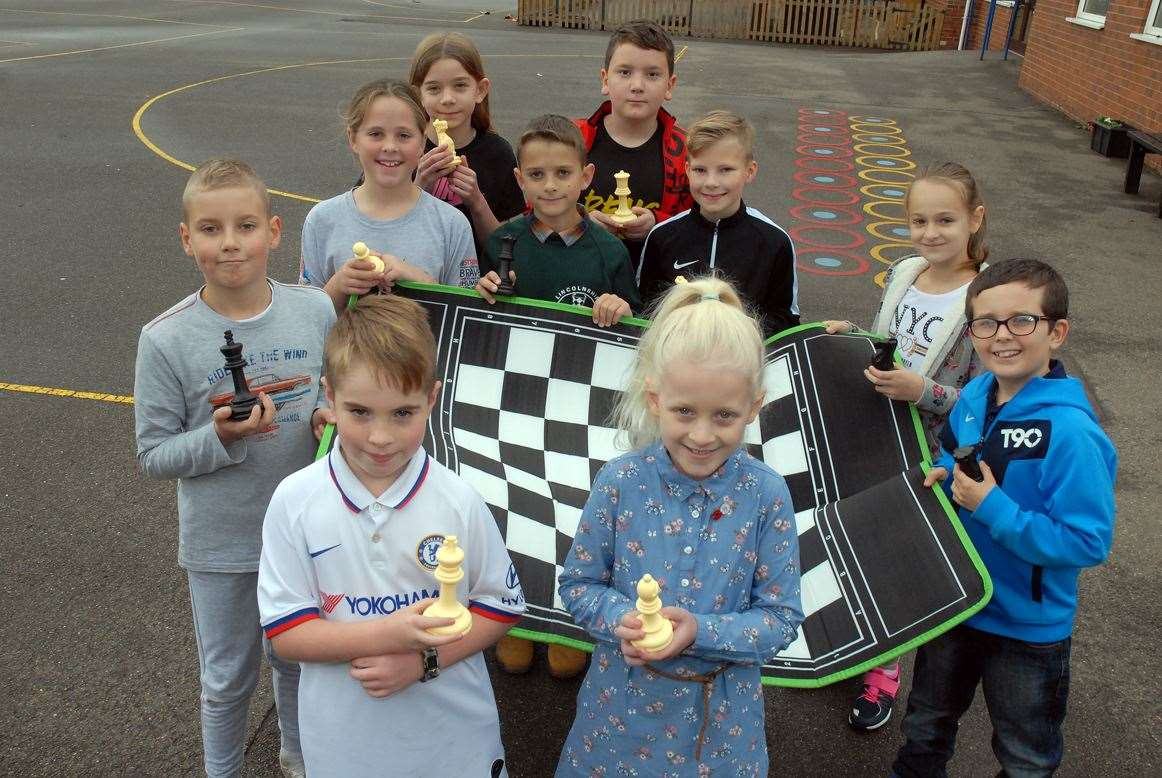 Youngsters who took part in a chess tournament at St John the Baptist School (22024076)