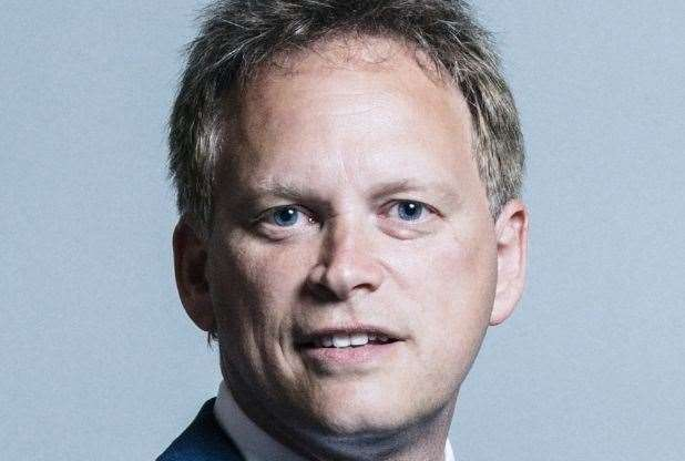 Transport Secretary Grant Shapps.