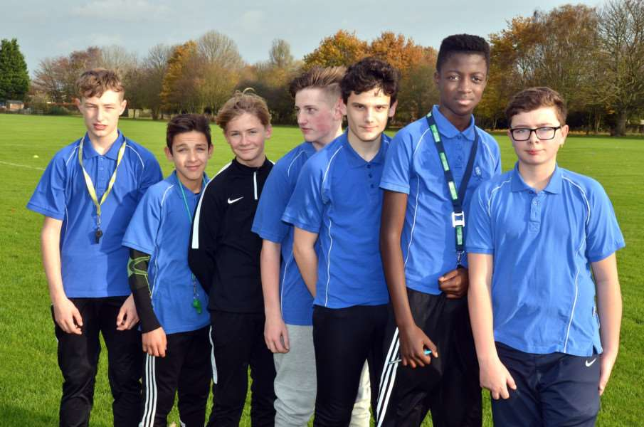Spalding Academy sports leaders