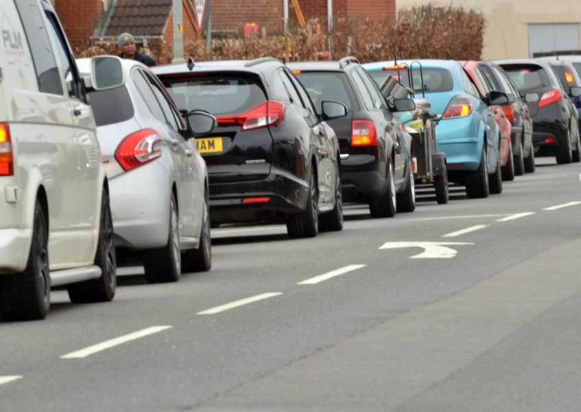 Motorists were caught up in delays on major routes into Spalding this morning. (Library image).