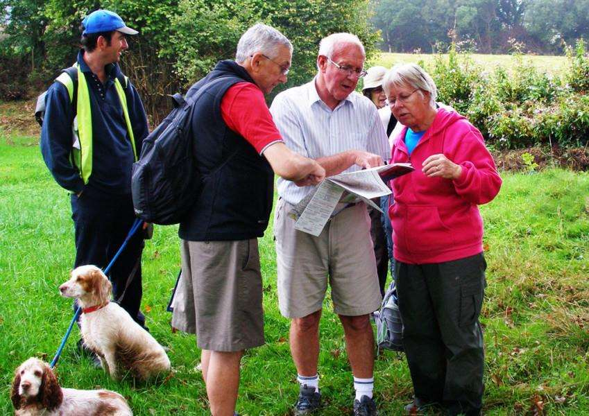 Join the Spalding Ramblers to walk off the festive food on New Year's Day.