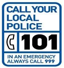Anyone with information should call the non-emergency number 101.