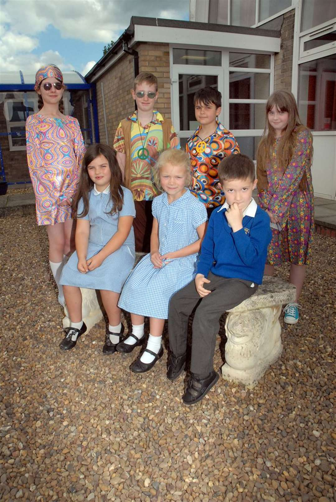 Celebrating half a century of Pinchbeck East Primary School's current site.